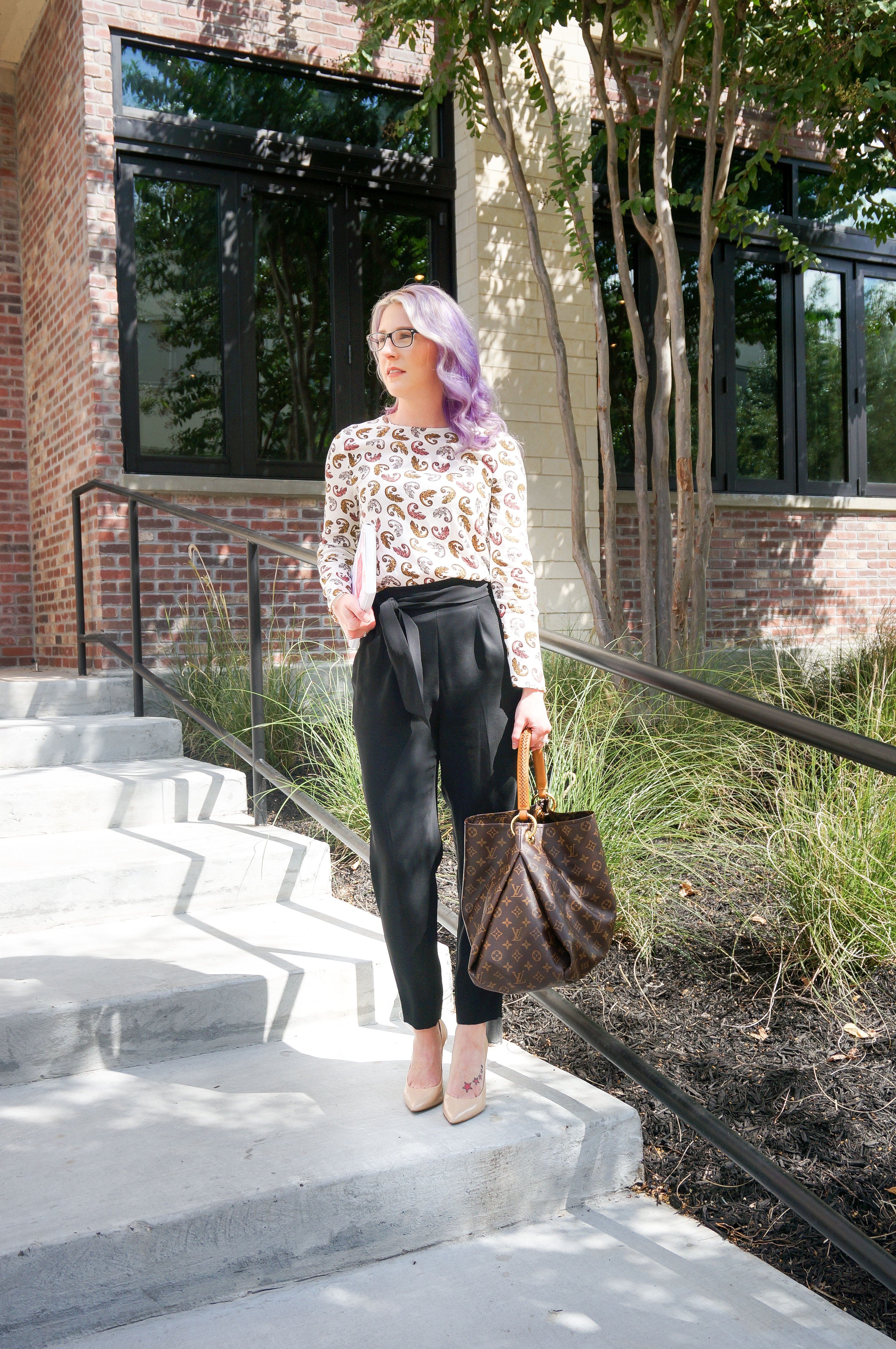 houston blogger, fashion blogger, style blogger, work wear, business casual, HM