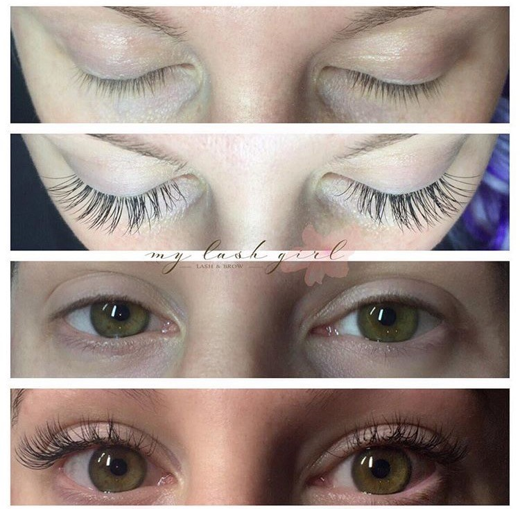Eyelash Extensions Review With My Lash Girl Gracefully Sassy