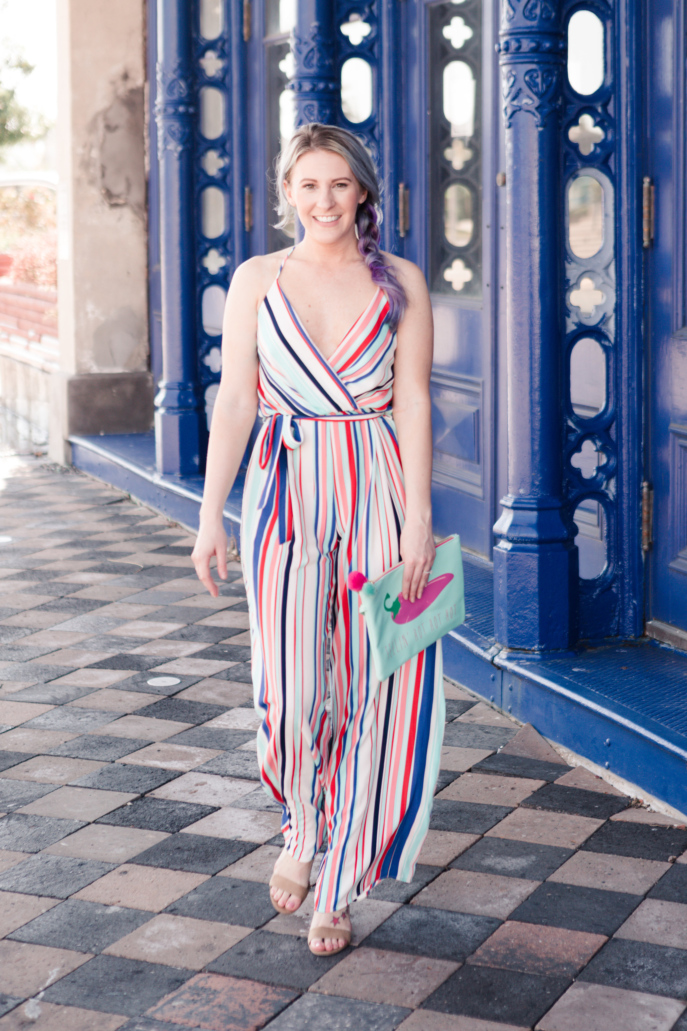 jumpsuit, striped jumpsuit, summer jumpsuit, nordstrom, outfit inspiration, outfit inspo, summer look,