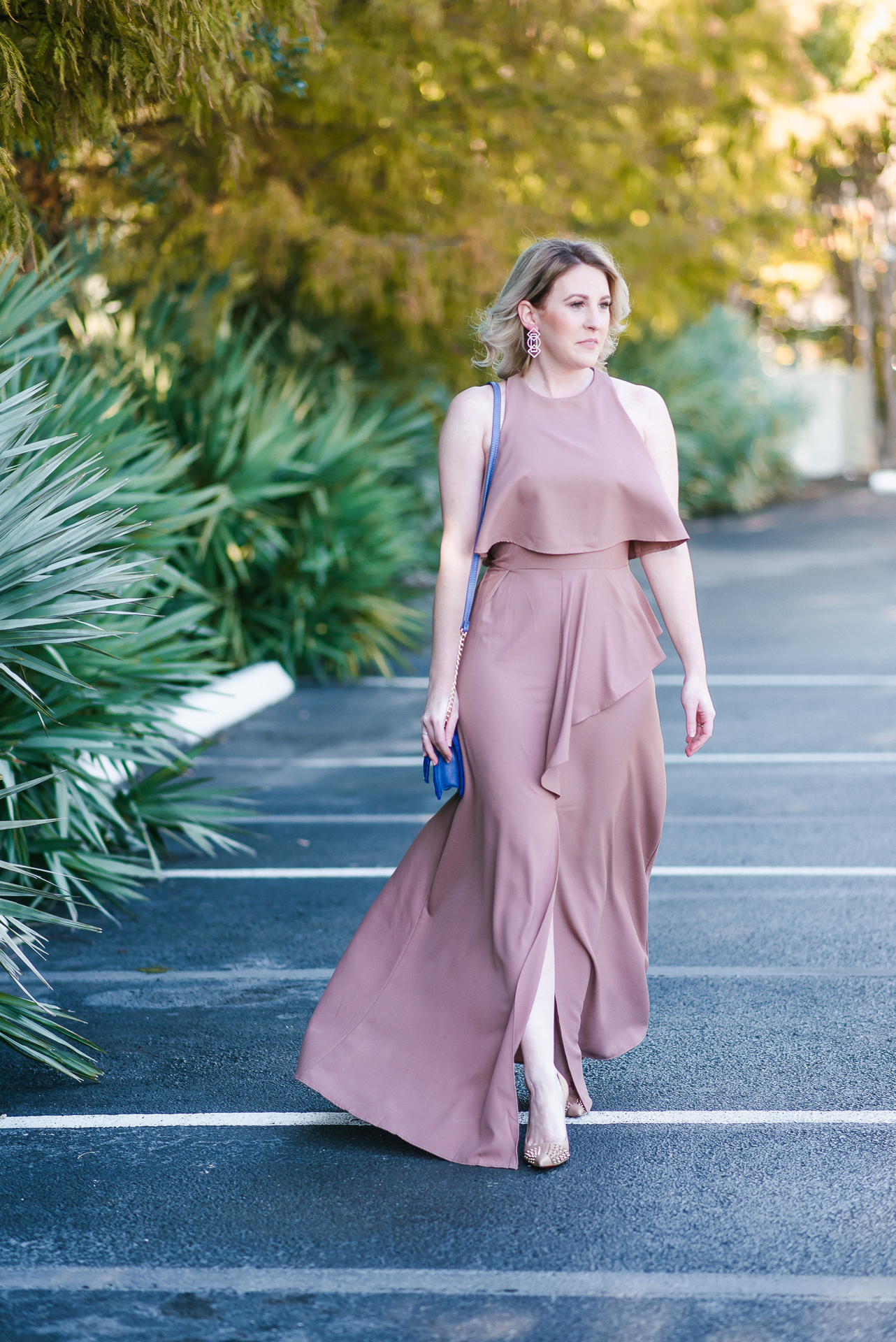 Fall Wedding Guest Dress Under $100 by Houston fashion blogger Gracefully Sassy