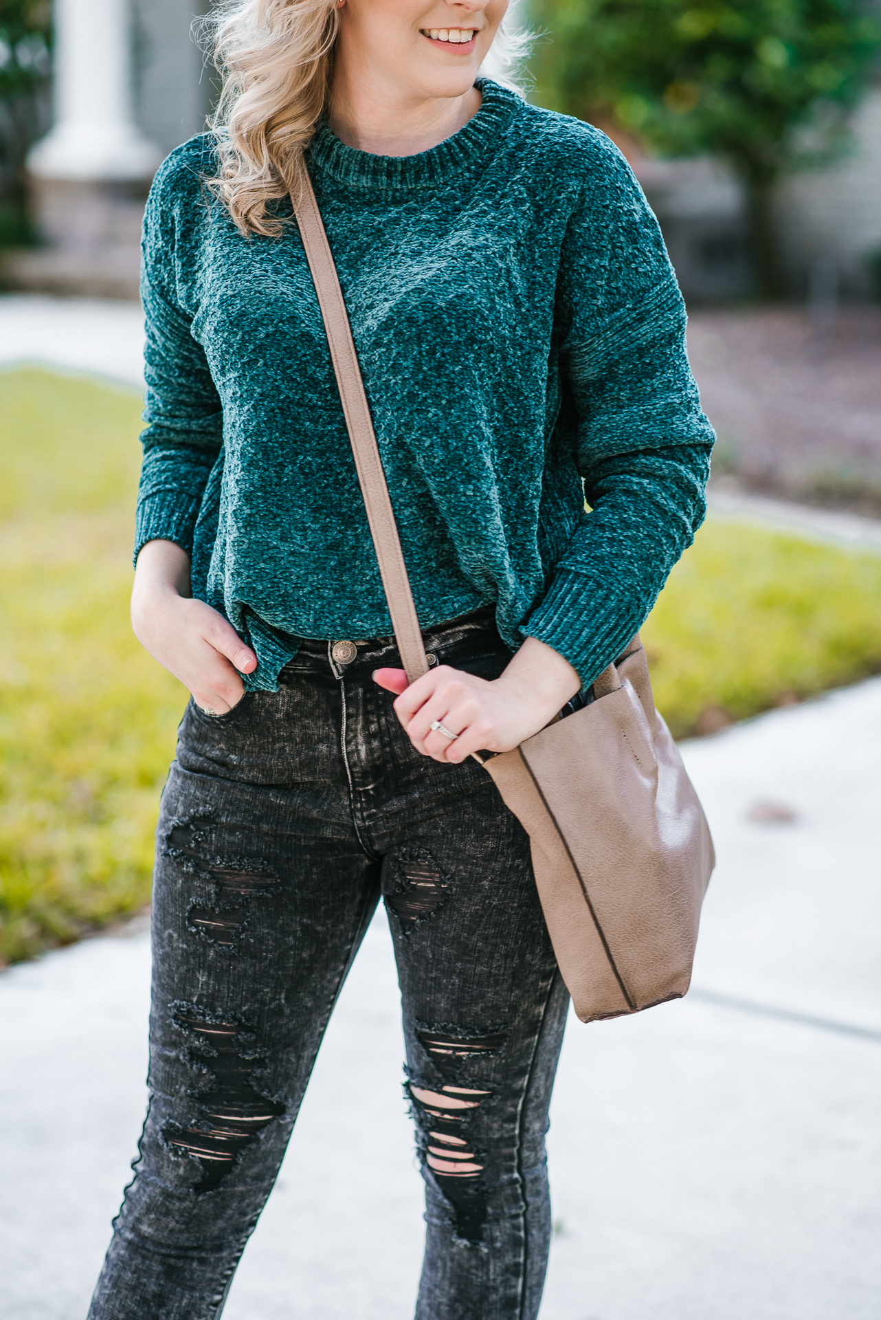 A Unicorn of a Different Color & My Favorite Chenille Sweater by Houston fashion blogger Gracefully Sassy