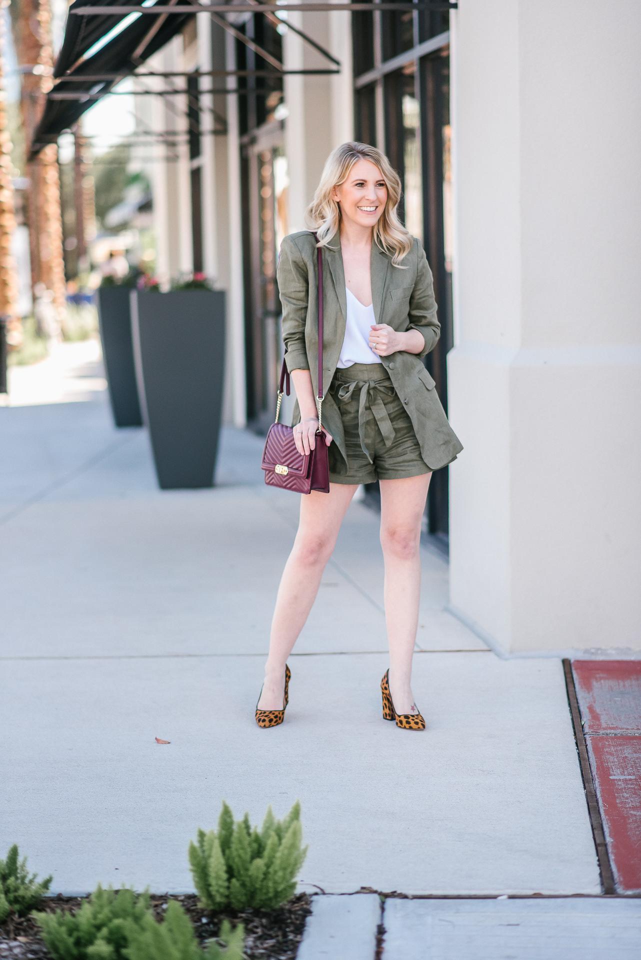 fashion blogger, lifestyle blogger, short suit, blazer, mom boss, business woman, houston blogger, lifestyle blogger